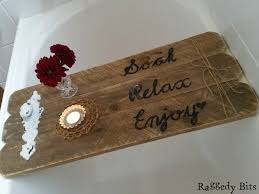 bathroom caddy ideas diy rustic pallet bath caddy