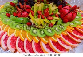 arrangement fruit heart shape fruit arrangement stock photo 138135227