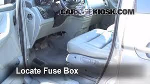 Honda Odyssey Interior Interior Fuse Box Location 1999 2004 Honda Odyssey 2002 Honda