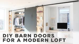 Home Made Modern by Diy Barn Door How To Install Barn Door Hardware Youtube