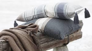 plaid coton canapé plaids douillets à poser sur un canapé