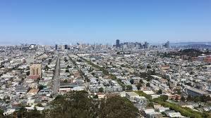 San Francisco Walking Map by San Francisco Tourism Spot 60 Fps Walking Up Bernal Heights Park