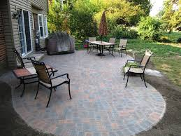 Patio Designs Garden Ideas Paver Patio Designs With Pit New Impression
