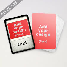 Playing Card Design Template Tcg Cards Playing Cards