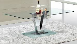 Modern Glass Coffee Tables Modern Glass Coffee Table Bella Furniture And Mattress