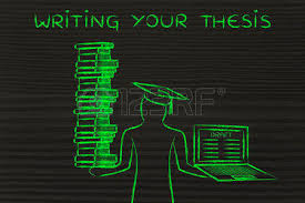 thesis writing design Thesis Stock Photos amp Pictures Royalty Free Thesis Images And thesis Writing your thesis graduate students holding a big stack of books and