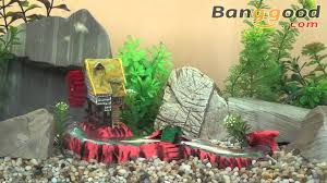 mill and small rice mill air aquarium decoration