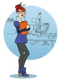 bureau des ressources humaines bénédicte voile illustratrice au bureau une illustration pour