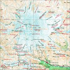Mexico Volcano Map by Volcanic Seven Summits Climbing Hiking U0026 Mountaineering