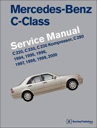 mercedes repair manuals mercedes c class 1994 2000 w202 service workshop repair
