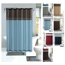 Black Bathroom Curtains Bathroom Curtain Set Simpletask Club