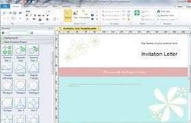 wedding invitation software software for designing invitations free wedding invitation maker