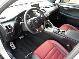 lexus f sport red interior test drive 2015 lexus nx 200t f sport the daily drive