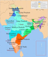India Maps by India Map With States And Languages Google Search Random