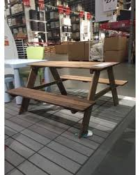 Small Tables Ikea Christmas Savings On Children U0027s Picnic Table Ikea Reso Acacia