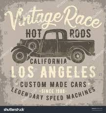 Vintage Ford Truck Apparel - vintage pick truck illustration typography slogan stock vector