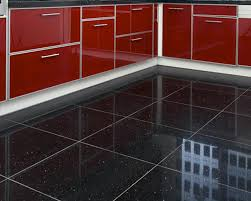 High Gloss Tile Effect Laminate Flooring Gloss Black Sparkle Laminate Flooring