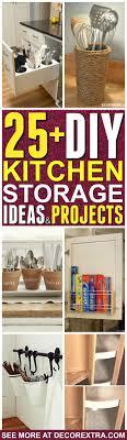 kitchen storage ideas diy 25 genius diy kitchen storage and organization ideas 8 is