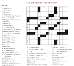 spooky crossword answer print out our free insect crossword