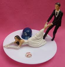 g cake topper this is so me wedding cake topper los angeles dodgers la g