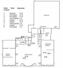 Fire Department Floor Plans Fire Fighter Fatality Investigation Report F2007 18 Cdc Niosh