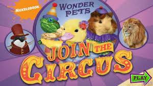 pets join circus nick jr cartoon game episode