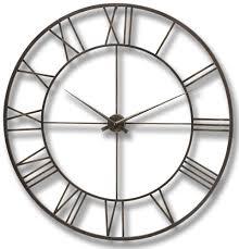 buy hill interiors antique brown metal framed wall clock online
