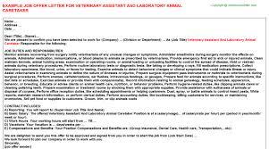 animal caretaker cover letter nonfarm animal caretaker job