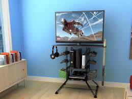 desks for gaming consoles tv stands outstanding entertainment center for gamers video game