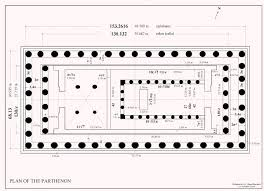 floor plan of the parthenon classical parthenon floor plan pseudodipteral parthenon