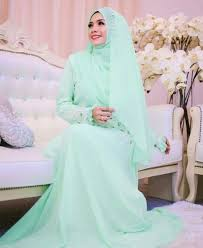 tutorial hijab syar i untuk pernikahan 82 best gaun walimah syar i images on pinterest hijab bride