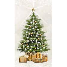 twinkle light christmas tree walmart white christmas christmas tree panel with twinkle lights by