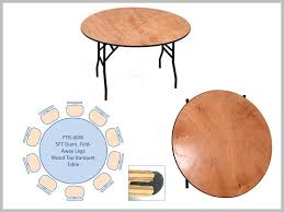 round wooden folding table 5ft round wooden top table with fold away legs