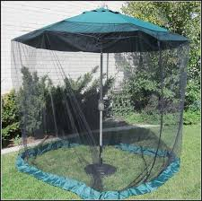 Offset Patio Umbrella With Mosquito Net by Mosquito Netting For Patio Patio Outdoor Decoration