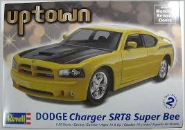 dodge charger srt8 superbee revell monogram uptown dodge charger srt8 bee plastic model