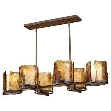 Pool Table Chandeliers Feiss Aris 6 Light Roman Bronze Billiard Chandelier With Glass