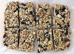 Top 10 Healthiest Granola Bars by Diy No Bake Chewy Granola Bars Bowl Of Delicious