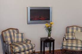 Fire Sense Electric Fireplace - amazon com fire sense stainless steel wall mounted electric