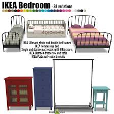 chambre hemnes around the sims 4 custom content objects ikea bedroom