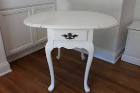 cherry end tables queen anne lovely vintage hammary drop leaf end table with queen anne legs