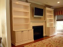 Built In Bookshelves Around Fireplace by Diy Built Ins Around Fireplace Custom Made Traditional Painted