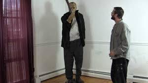 halloween props decoration jason voorhees 6 u00274 huge animaded halloween prop youtube