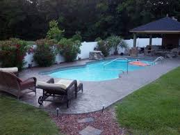 how much space is needed for a pool table testimonials southern scapes pool landscape designs
