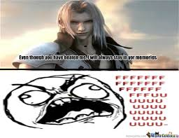 Sephiroth Meme - damn you sephiroth by imyourtroll meme center