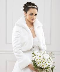 veste mariage boléro mariage fausse fourrure et satin tea boléro mariage