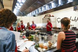 sur la table kitchen island a look inside some of ta bay s various cooking classes things