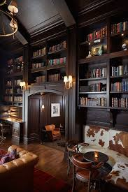 9 vintage inspired home libraries to envy modern library