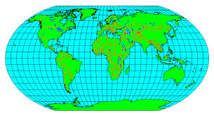 what is a map projection projection change at the national geographic society