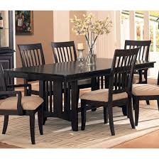 black dining room sets black dining room chairs
