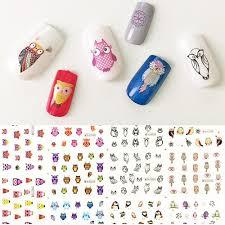owls water slide nail art nail decals 11 designs 228 nail decals